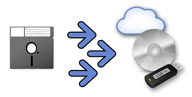 "Transfer and copy files from 5.25"" Apple Floppy Disks to CD/DVD"